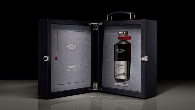 Bowmore Aston Martin whisky