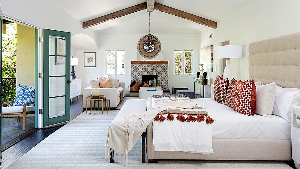 Geena Davis' home