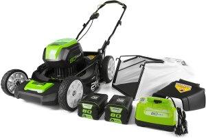 Greenworks Cordless Push Lawn Mower