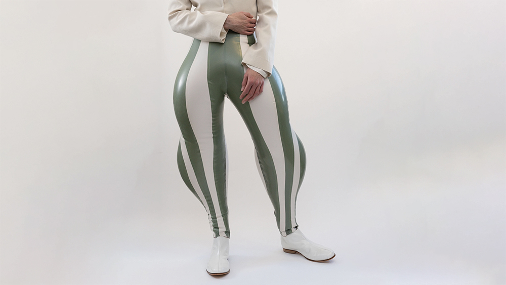 Harri's 'Striped Swirl' Inflatable Trousers