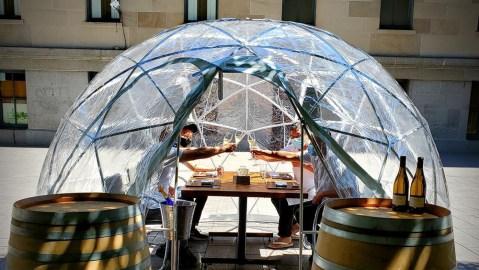 hashiri dining igloo
