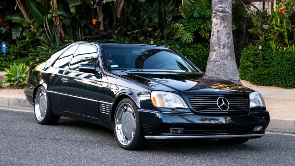 Michael Jordan 1996 Mercedes