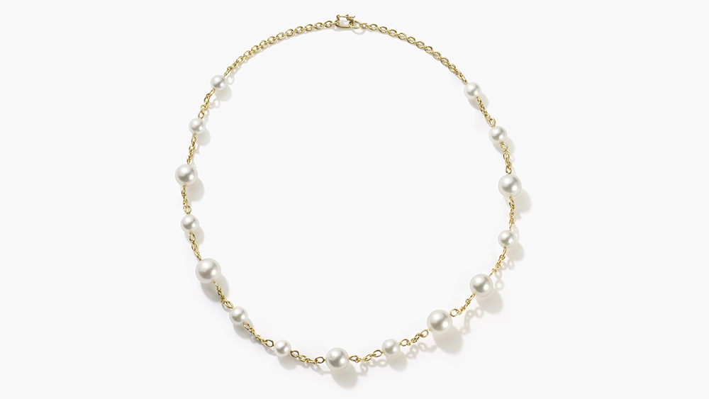 Irene Neuwirth's 'Gumball' pearl necklace.
