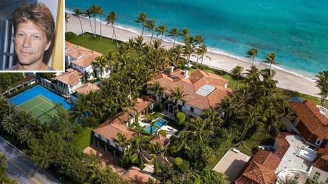 Jon Bon Jovi $43 million Palm Beach Mansion