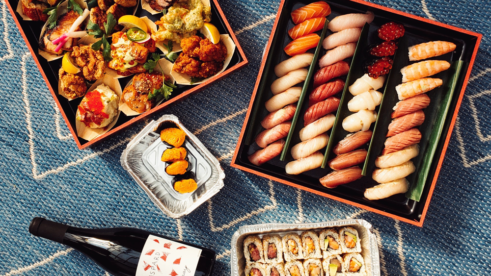 sushi takeout Juku