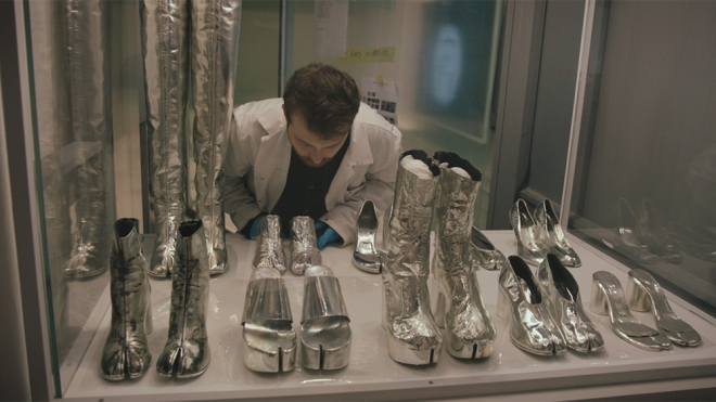 """A still from """"Martin Margiela: In His Own Words"""""""