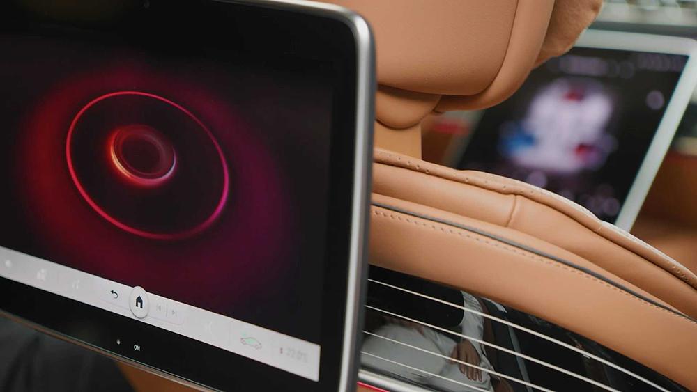 Mercedes 2021 S-Class Cabin