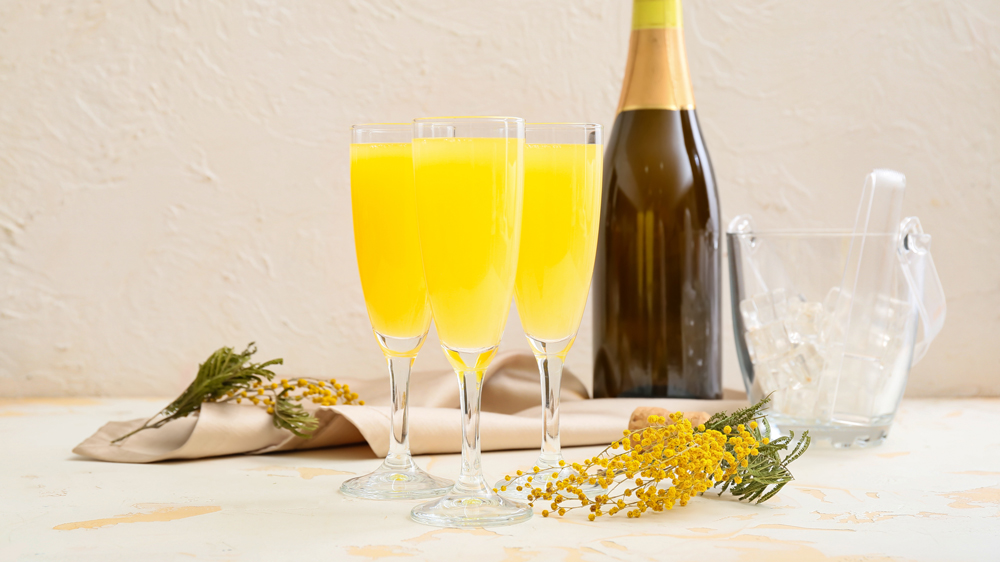 mimosas and champagne