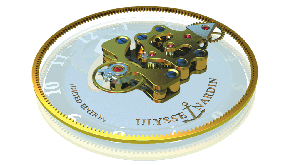 Ulysse Nardin Freak movement