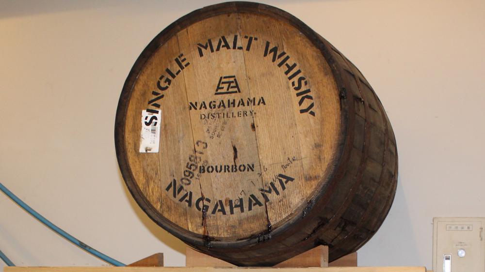 nagahama whisky barrel