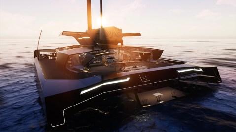 The Nemesis One superyacht concept