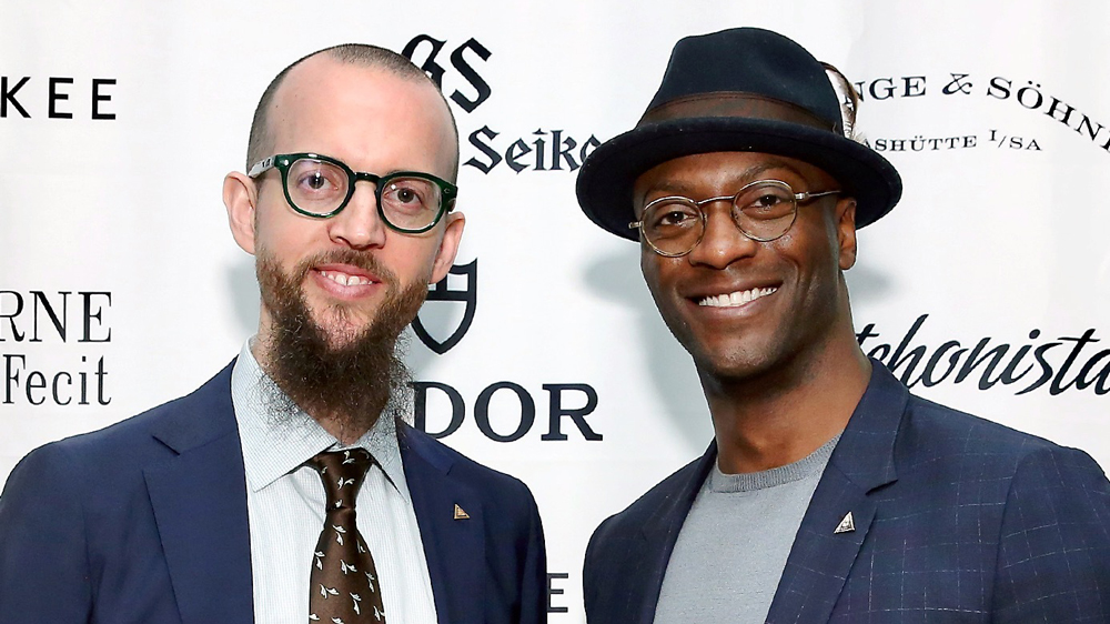 HSNY's Nicholas Manousos and Aldis Hodge