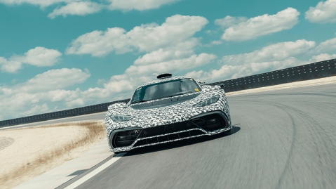 The Mercedes-AMG One Prototype