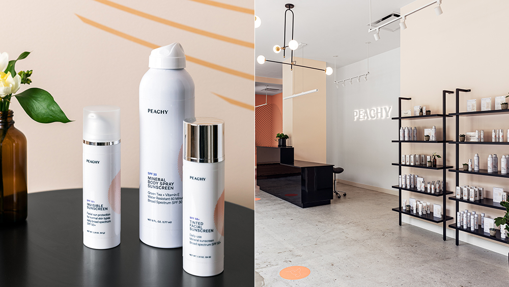 Peachy, a New York-based skin studio, puts prescription retinoids at the core of its strategy for great skin.