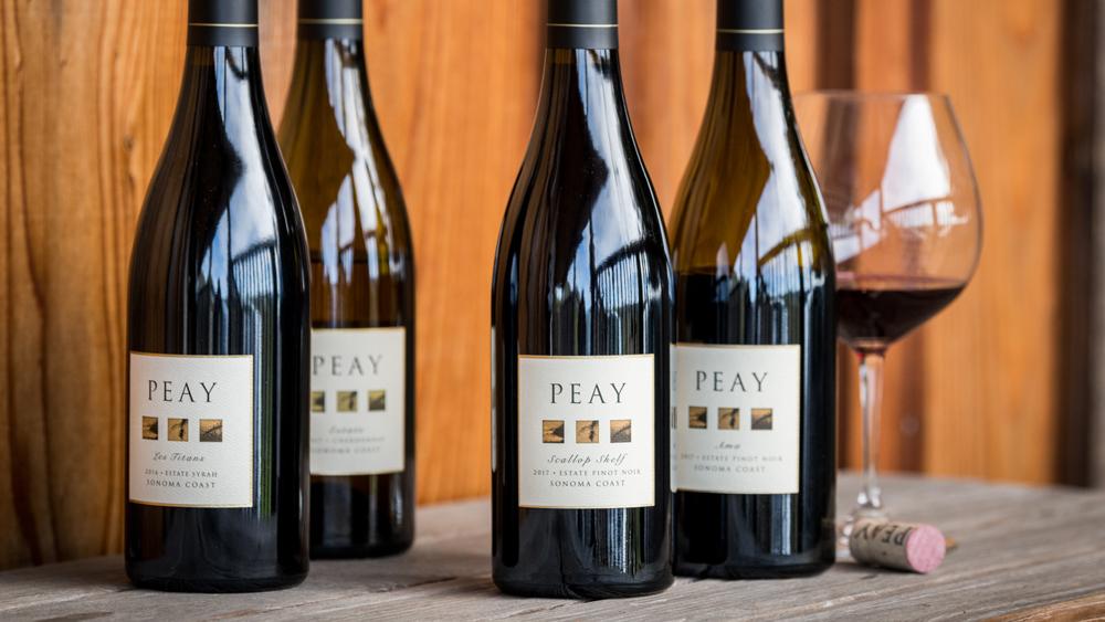 peay vineyards bottles