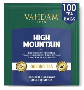 Vahdam High Mountain Oolong Tea Bags