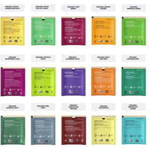 Stash Organic Tea Bags Sampler Gift Set