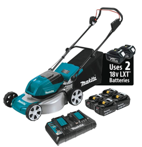 Makita Brushless Cordless Lawn Mower Kit