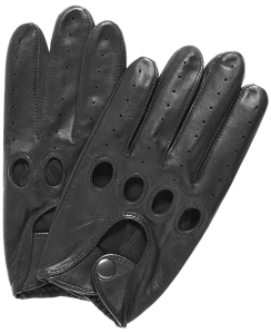 Silverstone Leather Driving Gloves by Pratt and Hart