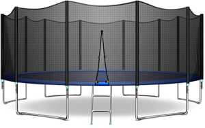 Jins & Vico Trampoline with Safety Enclosure Net