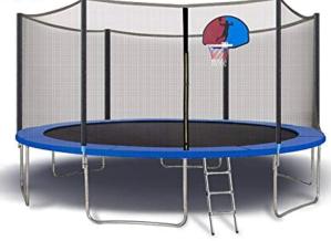 Albott Trampoline with Enclosure Net