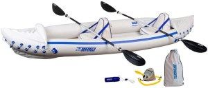 Sea Eagle 370 Pro Three-Person Inflatable Kayak