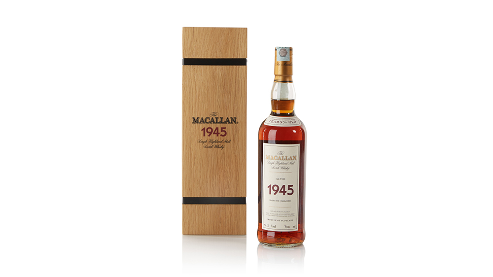 The Macallan Fine and Rare 56 Year Old from 1945