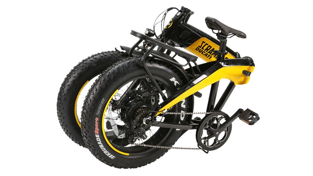 The Ducati SCR-E