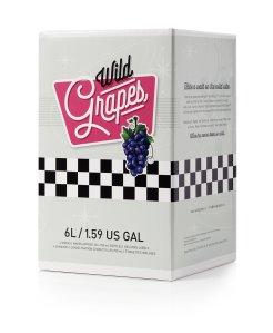 Wild Grapes, Premium DIY Wine Making Kit