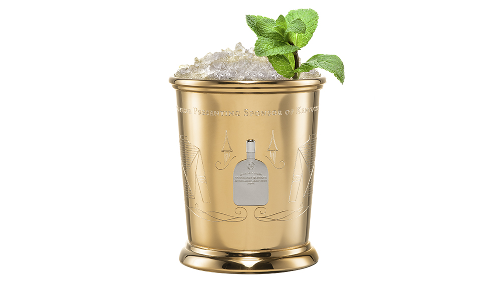 Woodford Reserve Gold Mint Julep Cups