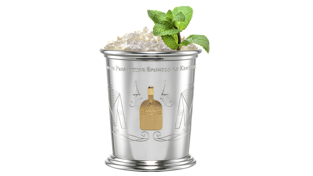Woodford Reserve Silver Mint Julep Cups
