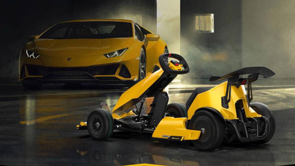 The Segway Ninebot GoKart Pro Lamborghini Edition