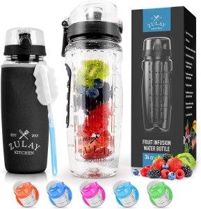 Zulay Fruit Infuser Water Bottle