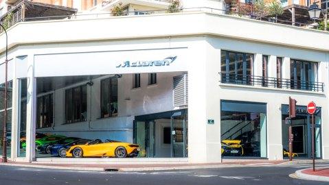 La Maison McLaren in Paris.