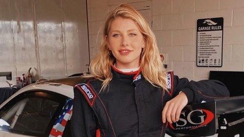 Racer Alex Hainer.