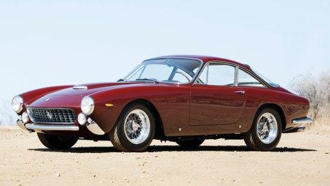 A 1964 Ferrari 250 GT Lusso.