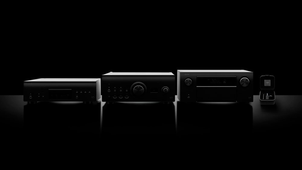 Denon celebrates 110 years with a quartet of new audio components.