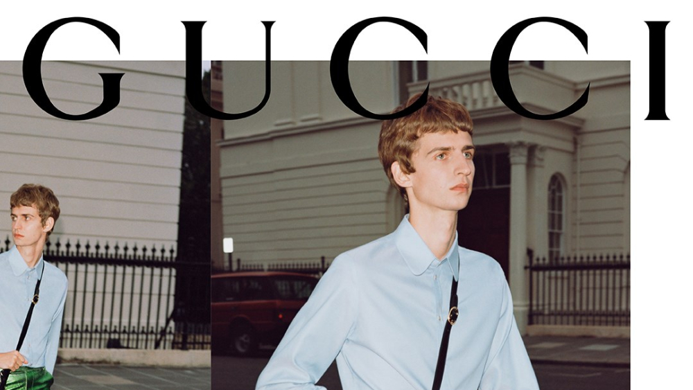 Gucci collection ad