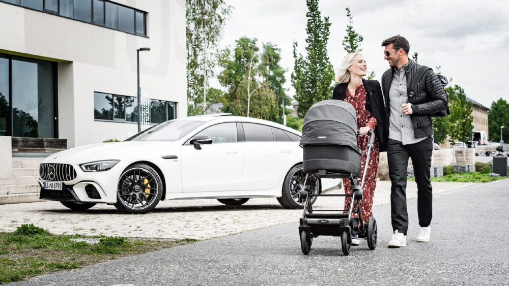 Mercedes-AMG Hartan Kinderwagenwerks stroller