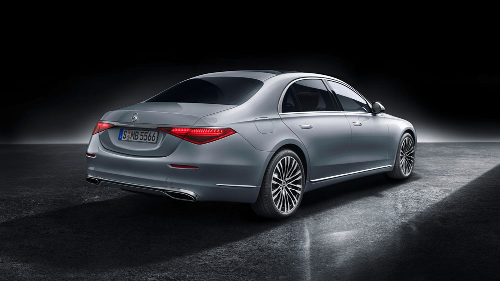 The new Mercedes-Benz S-Class.