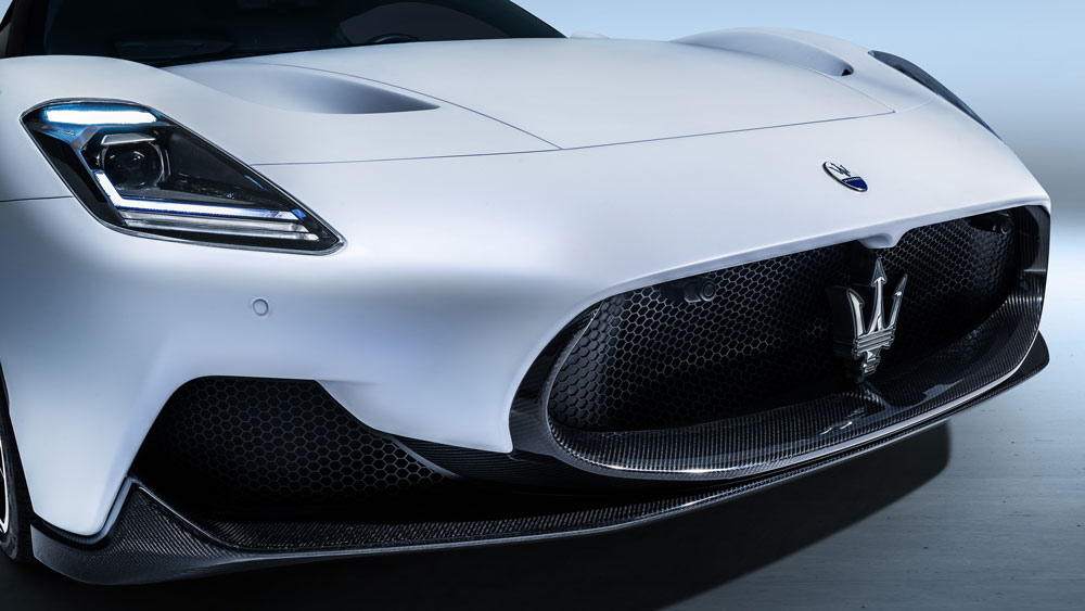 The Maserati MC20.