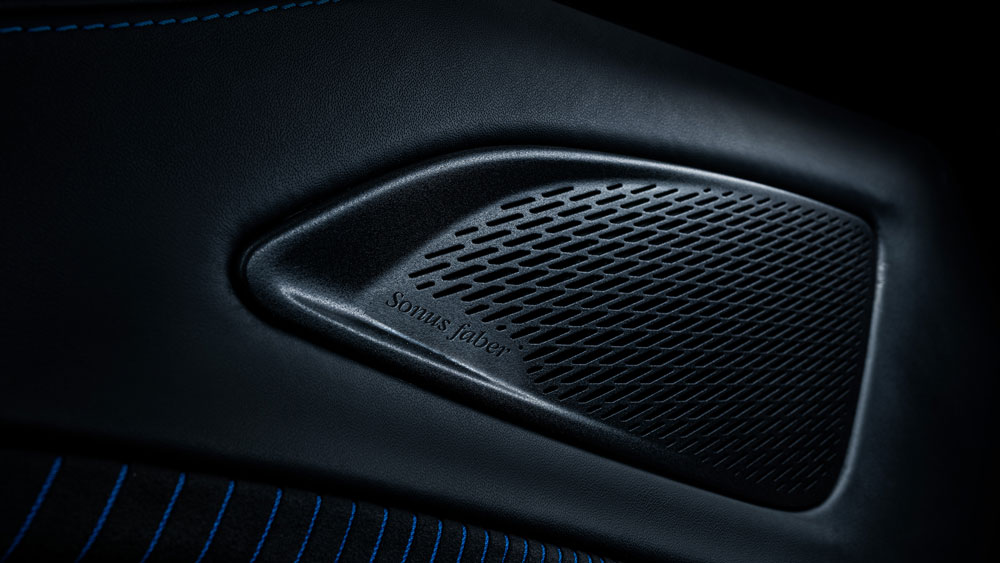 The Maserati MC20 revs up its sound system with Sonus Faber.