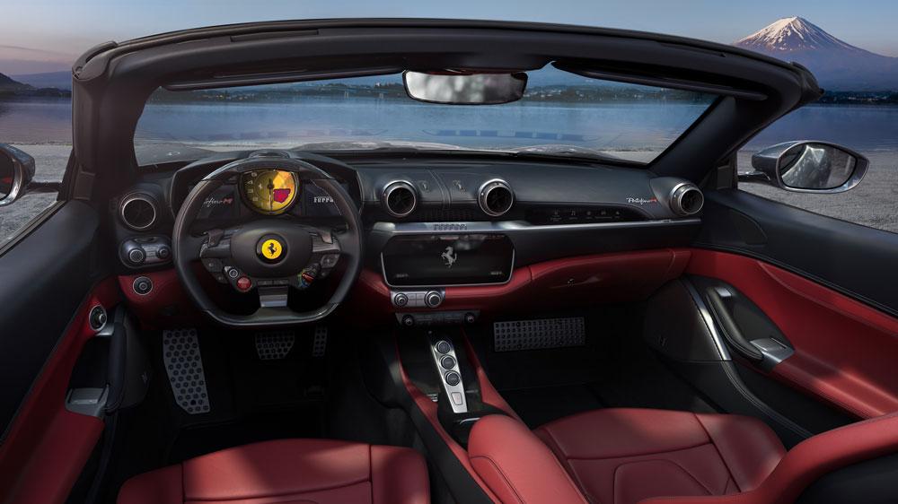 Inside the Ferrari Portofino M.