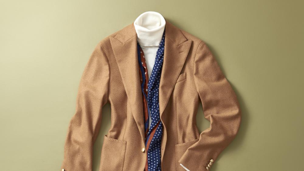L.B.M. 1911 wool blazer