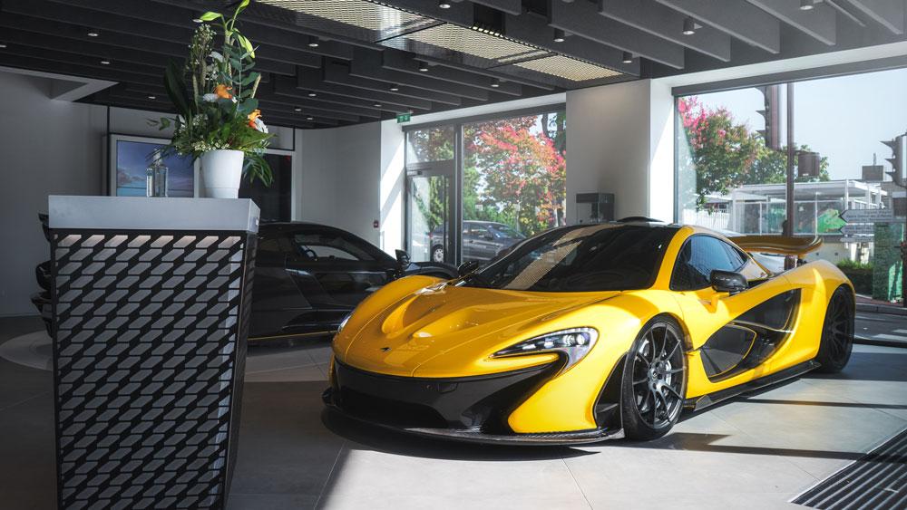 A McLaren P1.