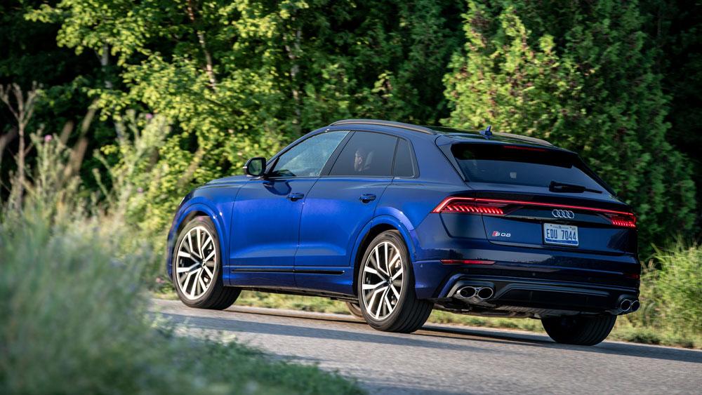The 2021 Audi SQ8.
