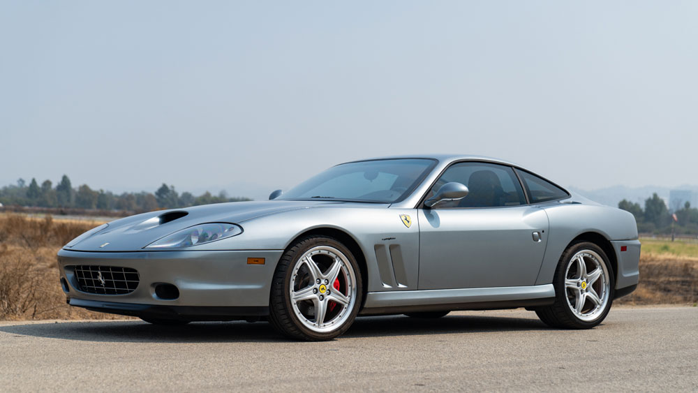 A 2005 Ferrari 575M.