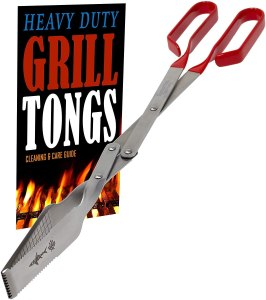 Shark BBQ Heavy Duty Grill Tongs