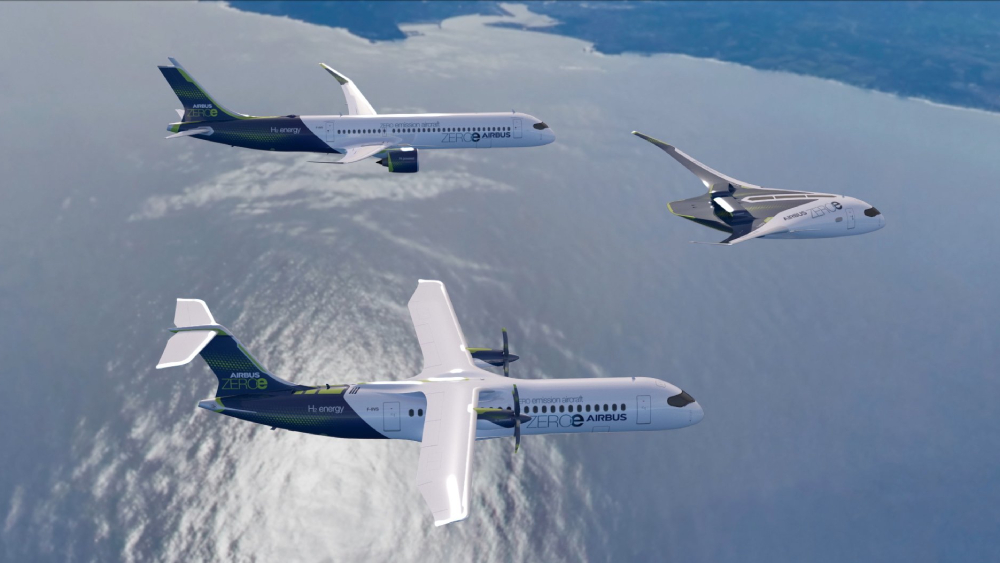 Airbus zero-emission hydrogen plane
