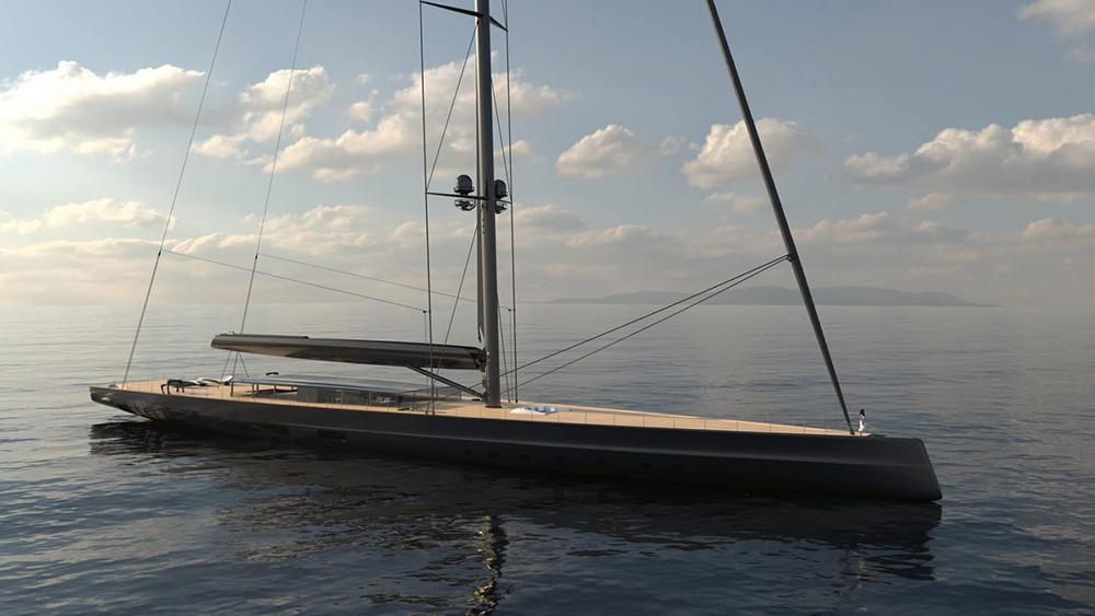 L'Apex 850 Superyacht de Royal Huisman est plus grand que la Statue de la Liberté